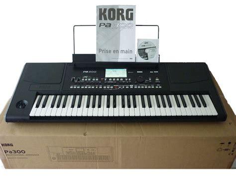 Keyboard Korg Pa 300 korg pa300 image 1423322 audiofanzine