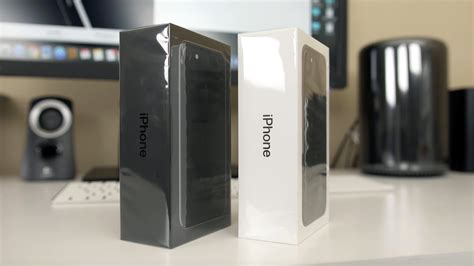 Iphone 6 64gb Gold 3482 by Iphone 7 Unboxing Jet Black And Black