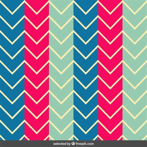 colorful pattern colorful zig zag pattern vector free