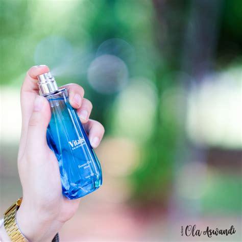 Parfum Vitalis Biru review vitalis eau de cologne femme chic ola aswandi
