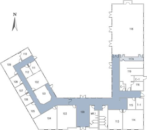 csu building floor plans john stuart rogers faculty development center california