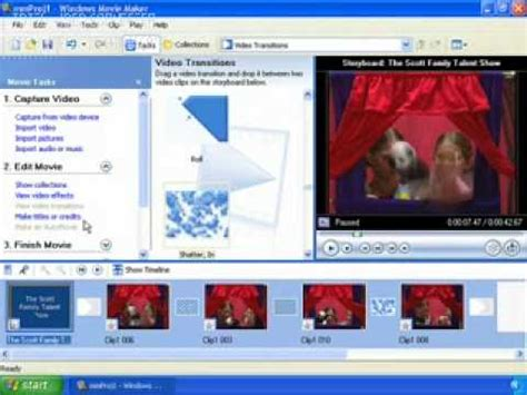 tutorial windows movie maker xp español how to use windows movie maker xp youtube