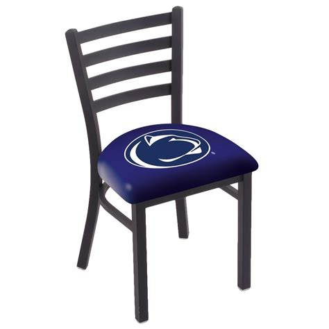 bar stool l00418pennst black steel penn state