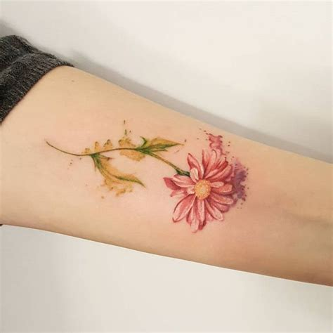 watercolor flower tattoo ideas 48 unique tattoos to style your