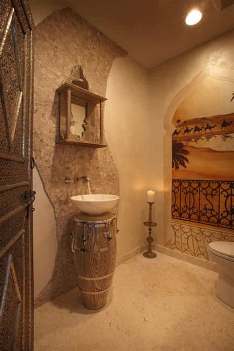 Bathroom Designer Online i colori della terra per un bagno in stile marocchino