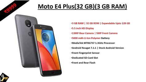 Moto E4 Plus Murah moto e4 plus iron gray 32 gb 3 gb ram