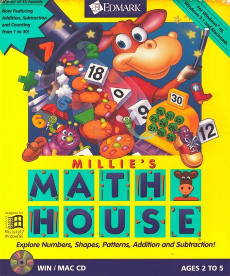 house games millie s math house for macintosh 1992 mobygames