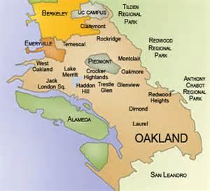 map of oakland california neighborhoods neighborhoods in oakland california