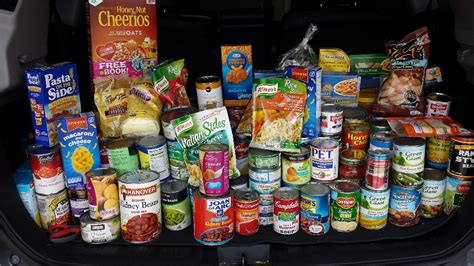 Pantry Meals by 2016 Food Drive Was Success