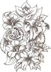 Tattooed Flower Vase Floral Bouquet By Thelob On Deviantart