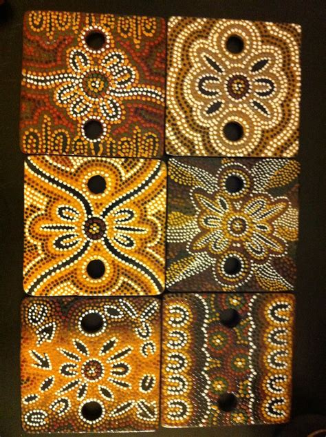 aboriginal painted designs aboriginal art pinterest