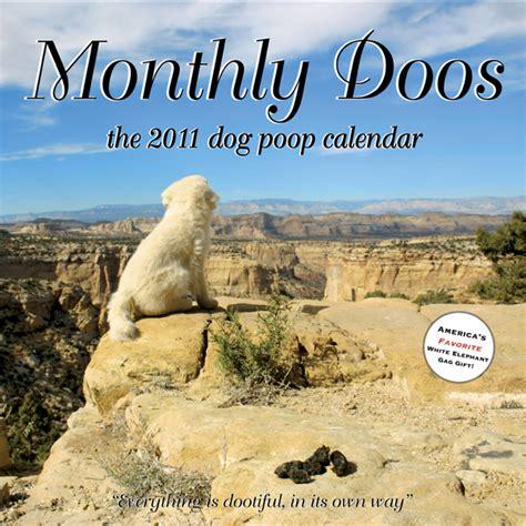 dogs pooping calendar 2011 calendars