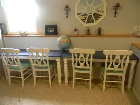 kitchen table desk refurbished kitchen table to study desk homeschool