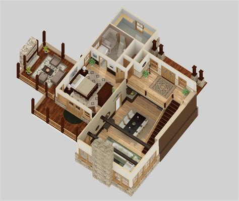 two story house plans 3d google search houses 3d floor plans charleston by leigh design llc