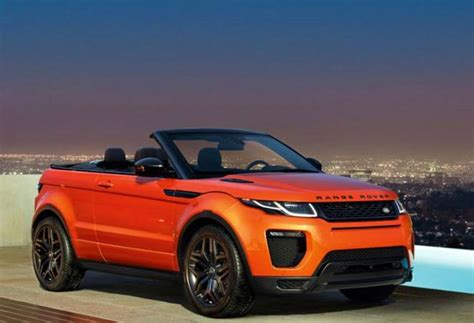 land rover evoque black convertible land rover launches india s suv convertible range