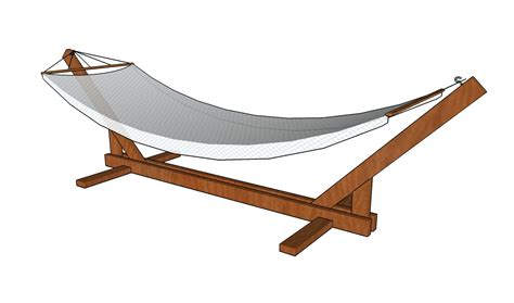 Wooden Hammock Stand Plans wood work plan to build a wooden hammock stand pdf plans