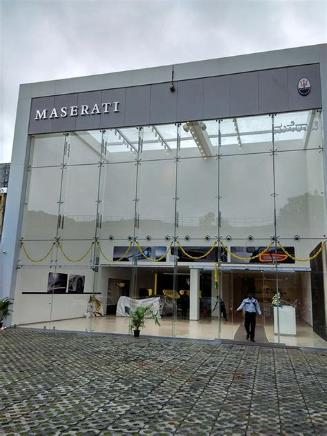 maserati bangalore maserati to open new showroom in bangalore gaadikey
