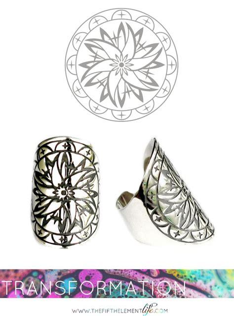 tattoo mandala ring the fifth element life mandala ring transformation