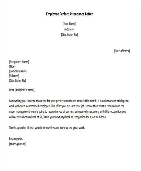 employee appreciation gift letter 41 appreciation letters in pdf