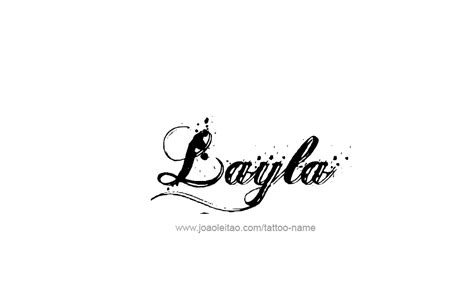 layla name designs