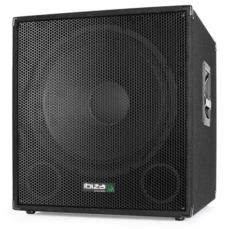 Speaker P Audio 18 Inch professional live active subwoofer 18 inch 1200w bass speaker stage bass bin ebay