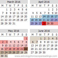 Calendar May And June 2016 2016 Mercury Retrograde Calendar