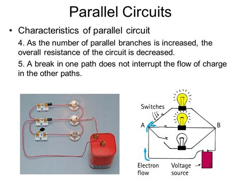 characteristics of resistors connected in parallel note on posted slides these are the slides that i intended to show in class on mon mar 18