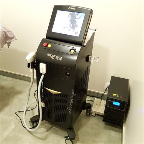 alma soprano ice blonde hair laser hair removal with soprano ice platinum at the