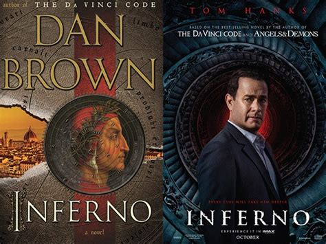 Novel Inferno Dan Brown read these books before their hit theaters this year thechive
