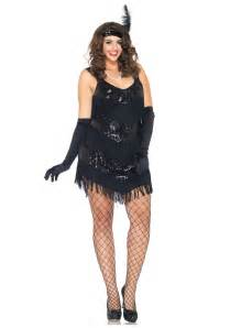 Roaring 20s flapper girl costume for plus size the plus size flapper