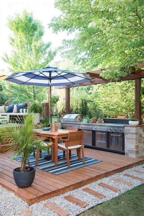outdoor kitchen ideas diy 2018 15 diy outdoor kitchen plans that make it look easy