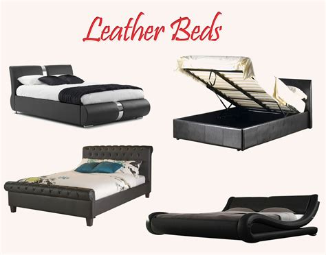 how much does a leather bed cost by homearena