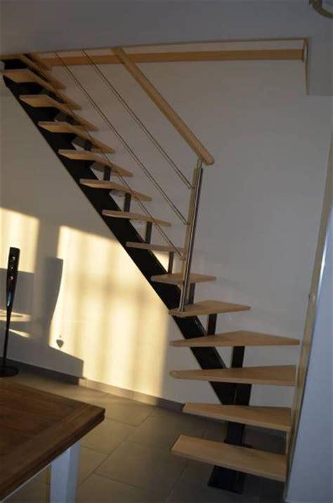 Escalier Quart Tournant Milieu 3286 by Fabrication Escalier Limon Central 1 4 Tournant Bas Gauche