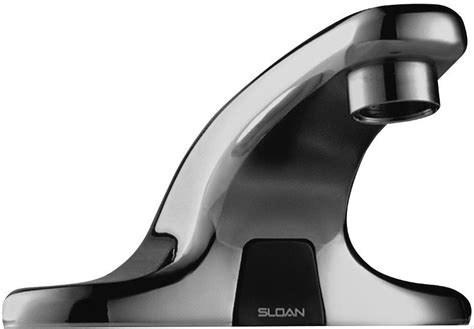 Sloan Electric Faucet by Sloan Ebf650 Battery Operated Faucet Cat No 9rs1700