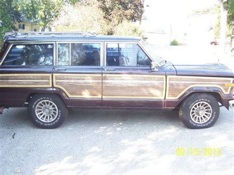 1988 Jeep Grand Wagoneer For Sale Purchase Used 1988 Grand Wagoneer In Pewaukee Wisconsin