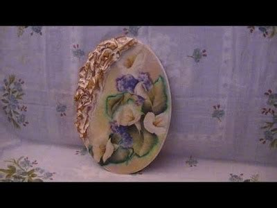 tutorial bauletto decoupage decoupage tutorial decoupage su bauletto di legno con