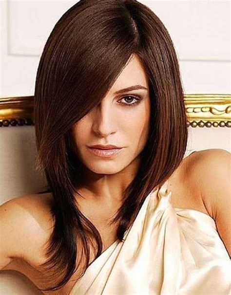 brown layerd bobs 15 best long bob brown hair bob hairstyles 2017 short