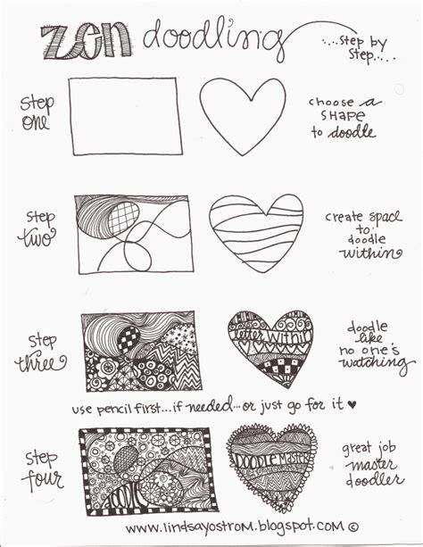 doodle pattern pdf zen doodling steps pdf zentangle doodle pinterest