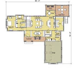 Ranch Rambler Floor Plans nicely organized floor plan a hallmark of simply elegant home