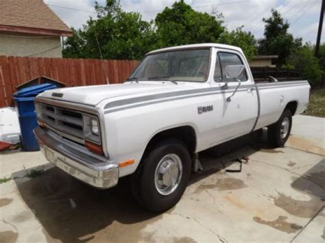 sell used 1989 dodge ram 250 various truck low