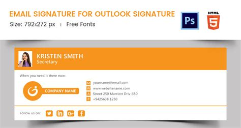 free email signature templates free email signature template home design