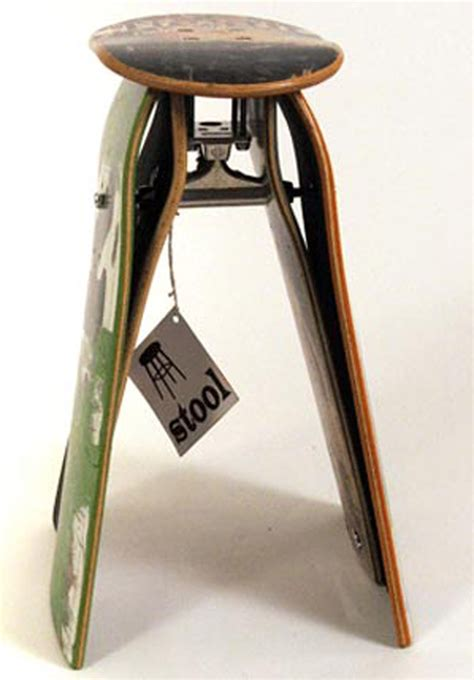 skateboard furniture 11 pieces of skateboard furniture by skate study house