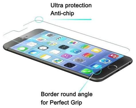 Iphone 6 Plus Tempered Glass Screen Protector Ant Limited best iphone 6 6s plus screen protectors scratch proof and shatter proof screen guards