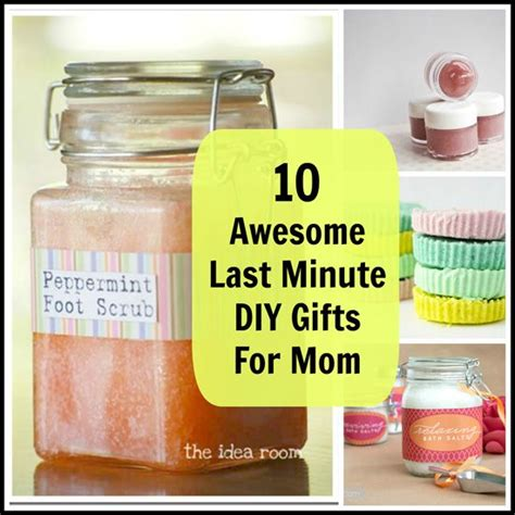 mom gift ideas 10 awesome last minute diy gifts for mom gift craft and