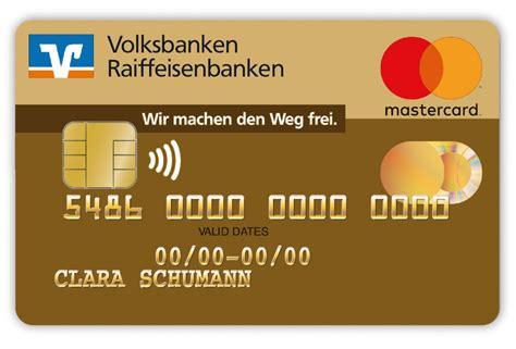 vr bank mastercard kreditkarte gold lohr a gem 252 nden karlstadt