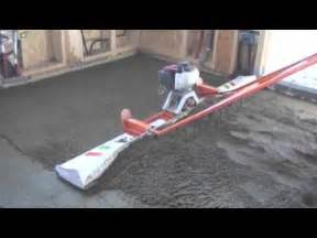 screeds concrete fast and easy