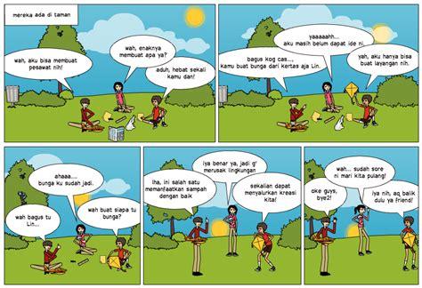 membuat montase tema lingkungan lingkungan hidup comic lingkungan
