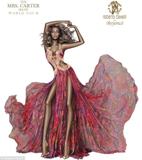 Preview Cavallis Designs For Spice Tour by Roberto Cavalli Erases Beyonce S In Press
