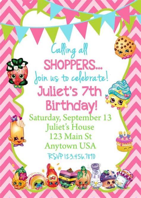printable birthday cards shopkins shopkins birthday invitation we birthdays and search