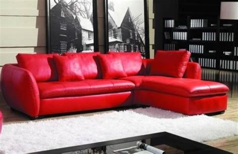 red leather sectional sofas kais red leather sectional sofa modern sectional sofas